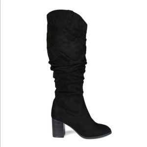 Journee Collection Slouchy Wide Calf Tall Boot